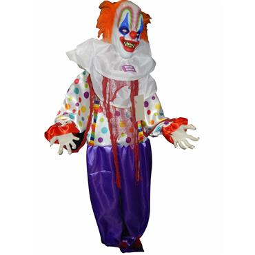 Standing Animated Clown 166cm