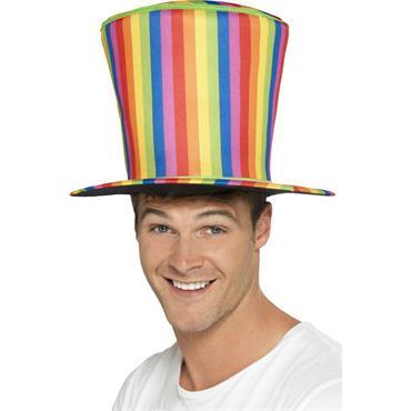 Top Hat, Rainbow - Pride