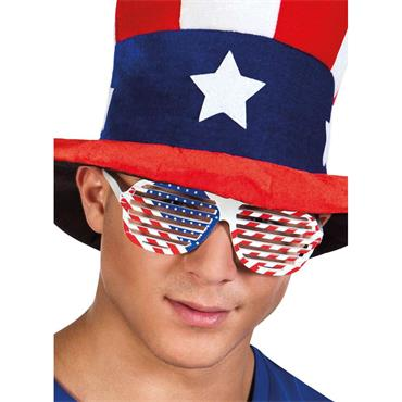 USA Party Glasses - 4th July