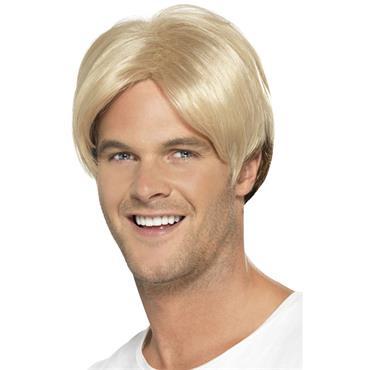 Blonde 90s Boyband wig
