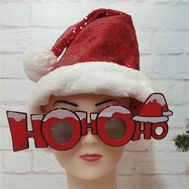 Ho Ho Ho Glasses