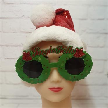 Jingle Bells Glasses