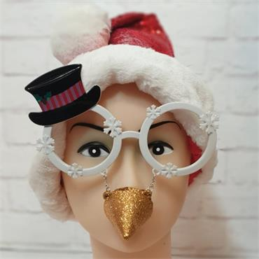 Frosty the Snowman Glasses