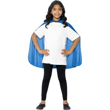 Cape, Blue, Mid Length