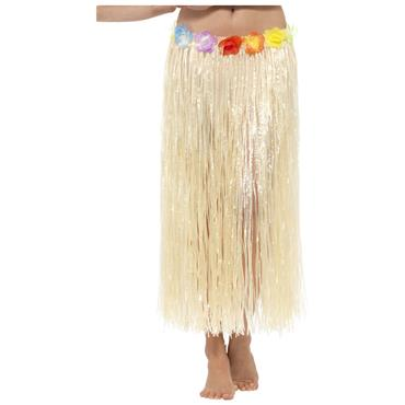 Hawaiian Hula Skirt With Flowers