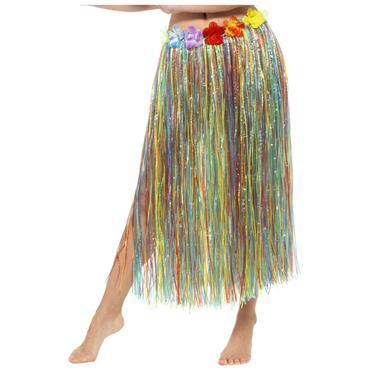 Multi-Coloured Hawaiian Skirt