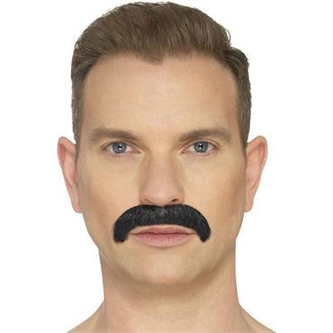 The Horseshoe Moustache-Black