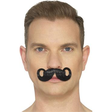 The Imperial Moustache Black
