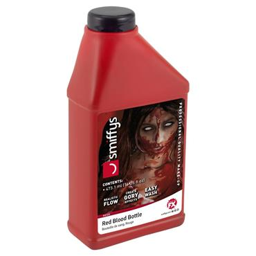 Blood Bottle, Red 16oz