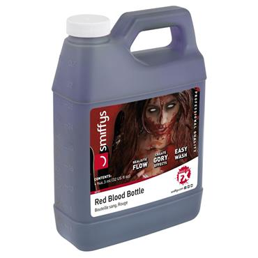 Blood Bottle, Red, 32oz