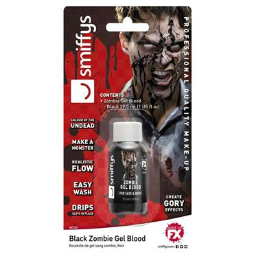 Zombie Blood Gel Bottle, Dark