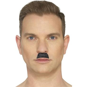 The Toothbrush Moustache-Black