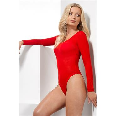 Opaque Bodysuit - Red