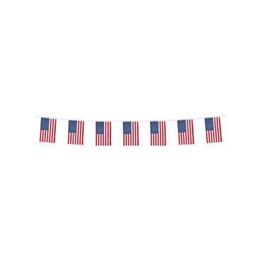 USA Flag Bunting (4m)