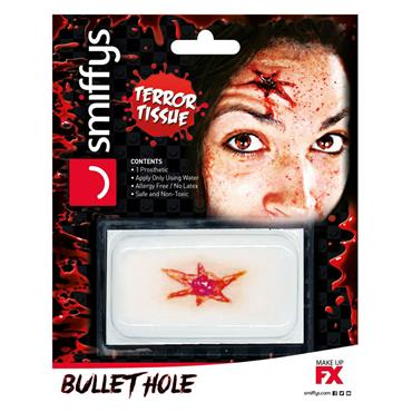 3D Prosthetic FX Transfer - Bullet Hole