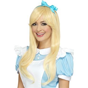 Deluxe Alice Wig-Blonde
