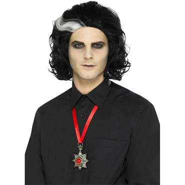 deluxe vampire metal medallion