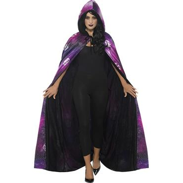 Deluxe Reversible Galaxy Ouija Cape