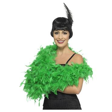 Deluxe Feather Boa - Emerald Green