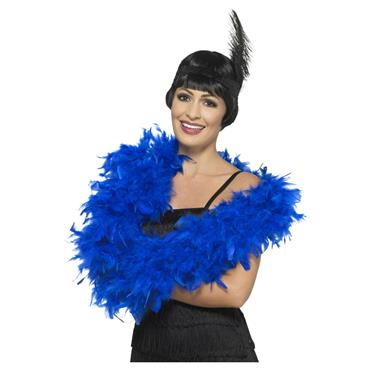 Deluxe Feather Boa - Royal Blue