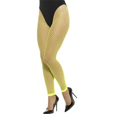 Net Tights Neon Yellow