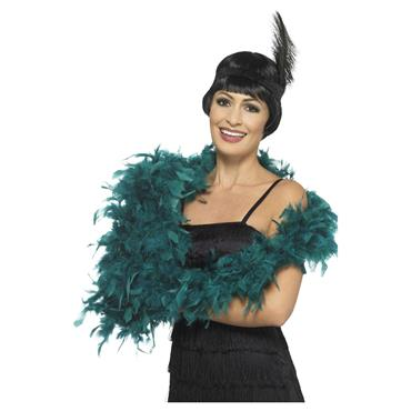 Deluxe Feather Boa - Teal