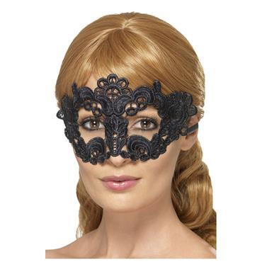 Emboidered Lace Filigree Eyemask