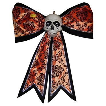 Skull Bow Light Up 63cm