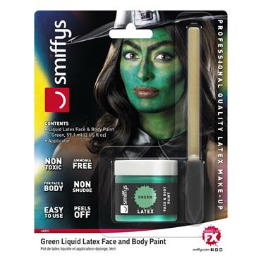 Green Liquid Latex Kit