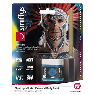 Blue Liquid Latex Kit