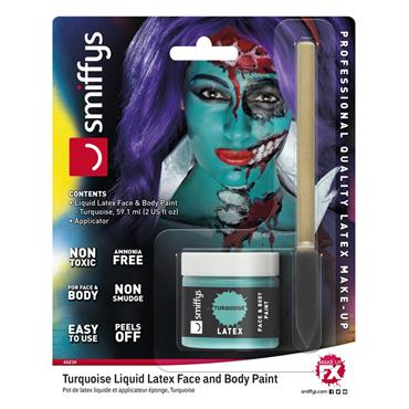 Turquoise Liquid Latex Kit