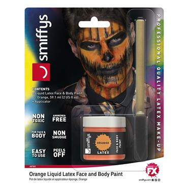 Orange Liquid Latex Kit