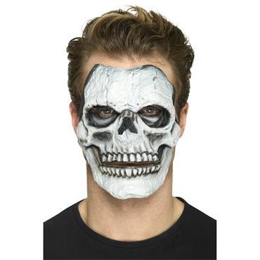 Foam Latex Skeleton Face Prosthetic