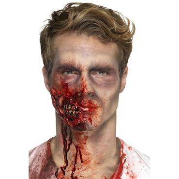 latex zombie jaw