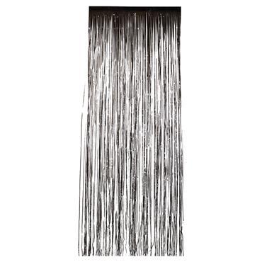 Glitter Curtain - Black