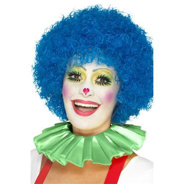 Clown Neck Ruffle-Green