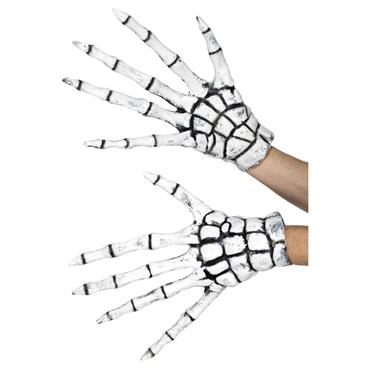 grim reaper skeleton gloves