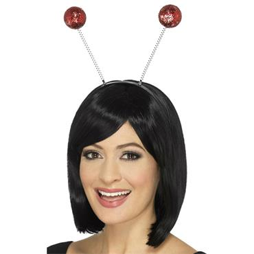 Glitter Ball Boppers Red