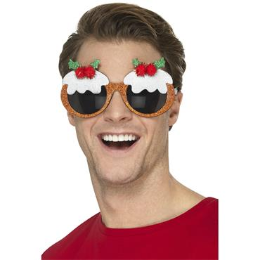Christmas Pudding Glasses