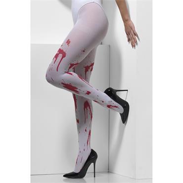 opaque tights blood splatter