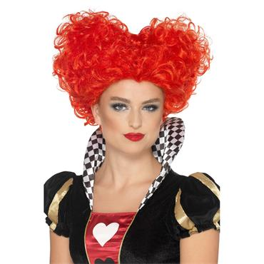 Heart Wig - Red
