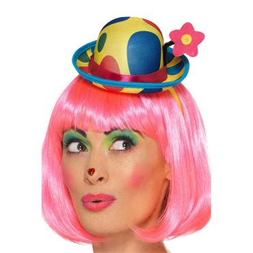 Clown Mini Hat Headband