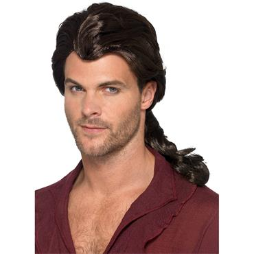 Marauder Pirate Wig Brown