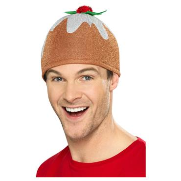 Christmas Pudding Hat, Brown