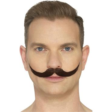 The English Moustache-Brown