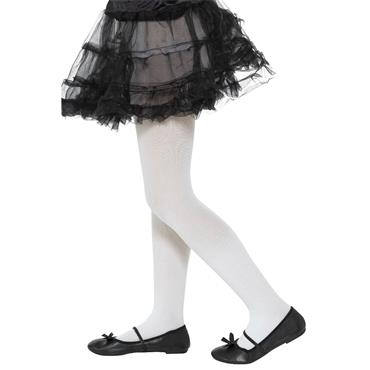 Opaque Tights White (Kids)