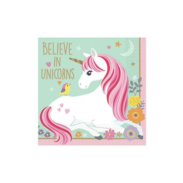 Unicorn Beverage Napkins (12pk)