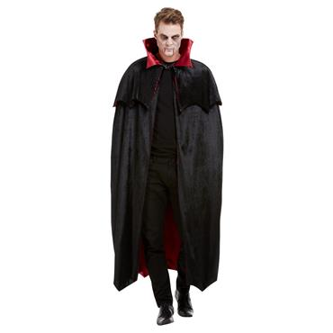 Deluxe Vampire Cape, Black