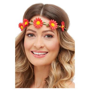 Hawaiian/Hippie Daisy Chain Headband