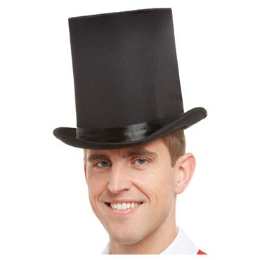 Deluxe Top Hat, Black